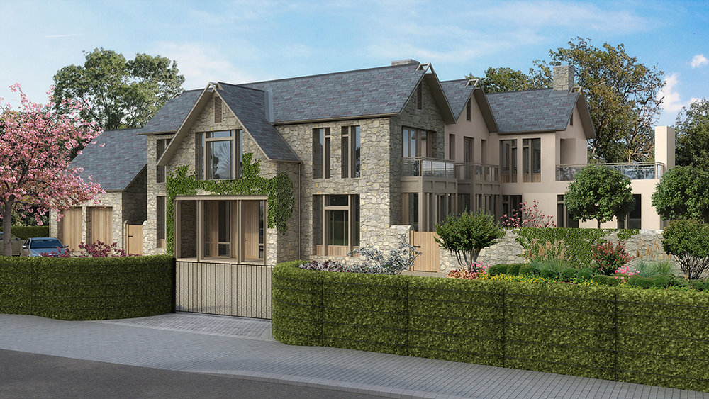 Shankill House   This project comprises of individually designed luxury homes on large plots of land set within the mature, verdant grounds of the refurbished Shankill House.