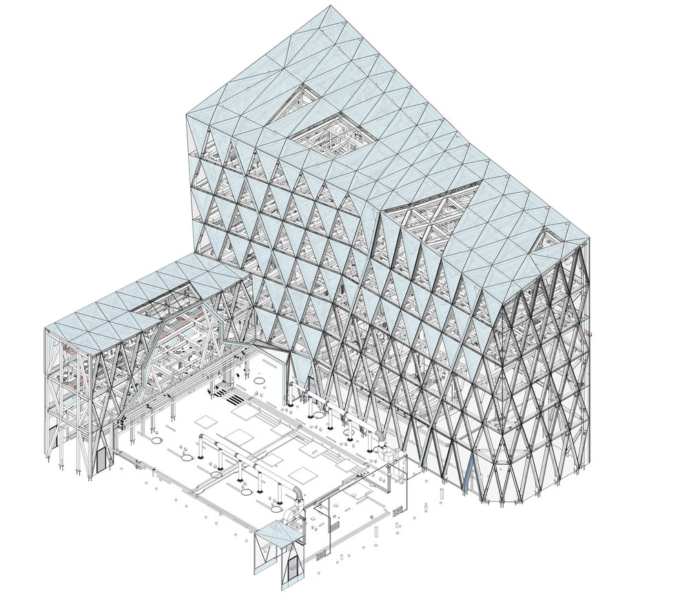 Scots Church - Axonometric View