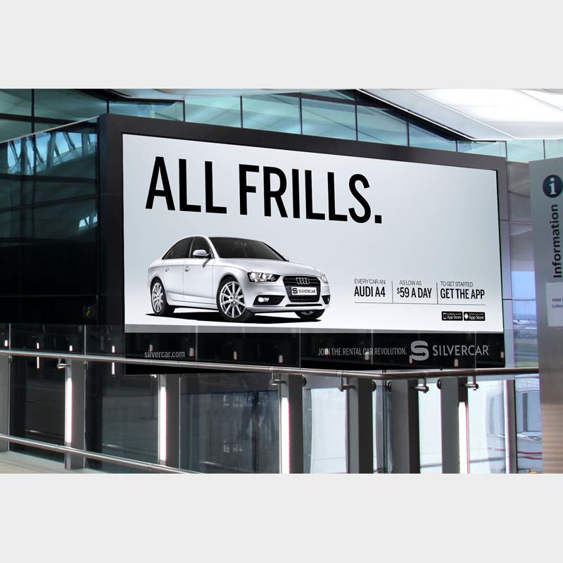 "Silvercar ""Frills"""