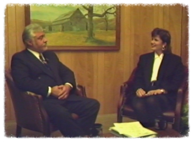 "The first ""Ask the Doctor"" show hosted by Michelle Jefferson on October 24, 1995"