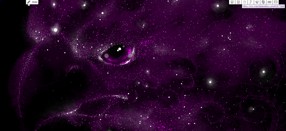 Interstellar bird from the confines of the galaxy