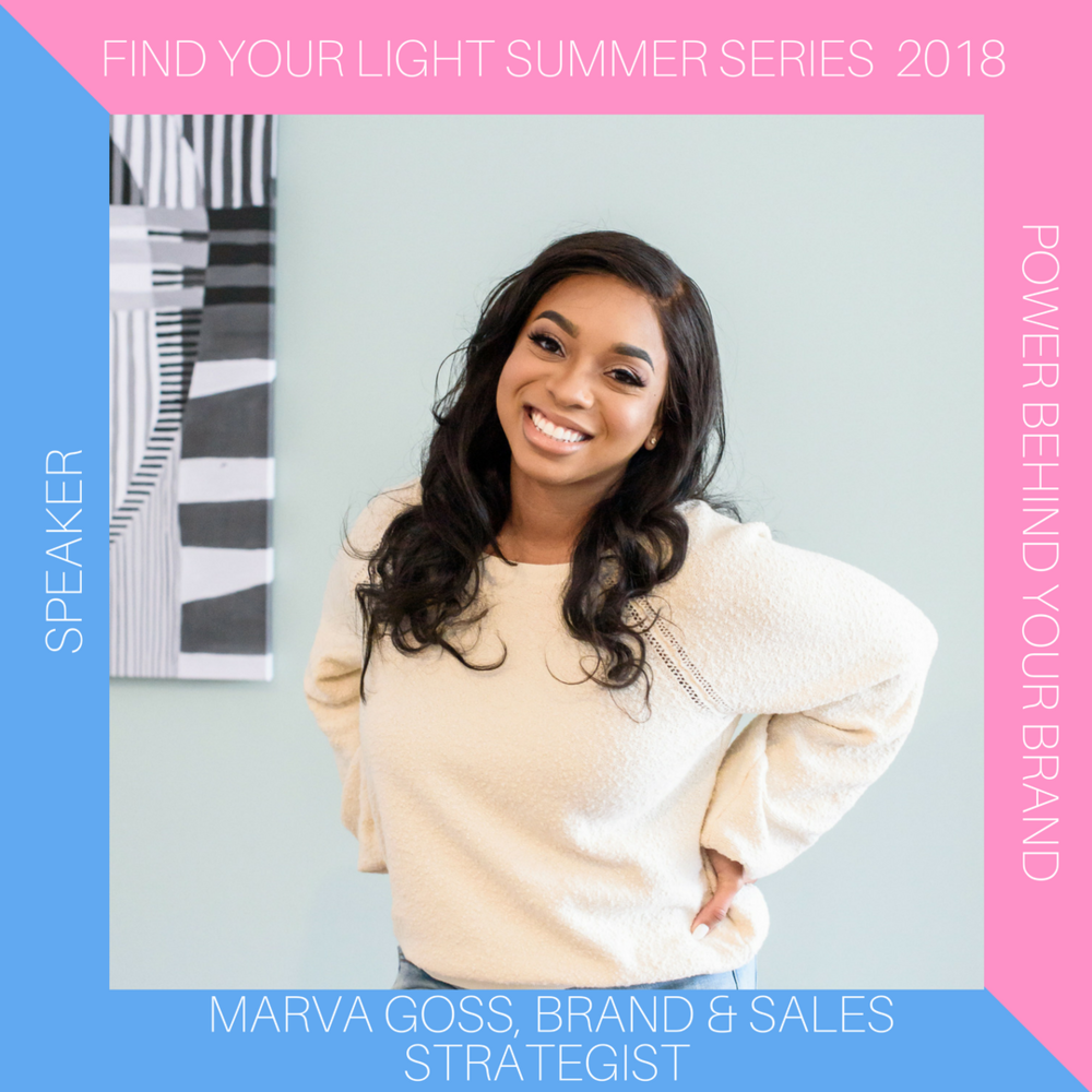 Marva is the brand + sales strategist behind Marva J. Coaching Co. Marva helps women coaches and creatives position themselves as the go-to expert in their industry, while building a brand they're excited about.  Marva is a veteran turned life coach turned strategist that encourages her clients to step out of their comfort zones to build an online presence that stands out from the rest. For more information, visit  http://www.marvagoss.com