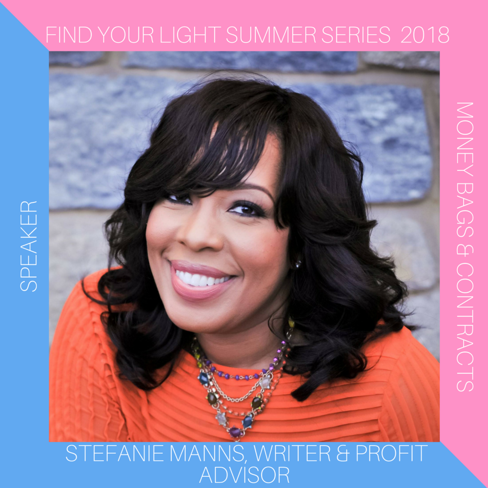 Stefanie Man ns is the writer for black women experts who are ready to become the emerging superstars of their industries. As a storyteller and editor, her genius is crafting compelling narratives that help women to see themselves the way the world sees them and to boldly share that brilliance with masses.  Stefanie's passion for women claiming their boldness surpasses storytelling, and encompasses every aspect of business, particularly profitability. She is an advocate for women recognizing the value of their talents and gifts, and earning their worth. If you ever find yourself questioning whether or not to add another zero to that price for your services and products, she's  definitely  the woman to call for the push you need.