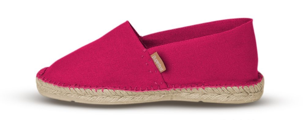 730345e85f596 Classic Espadrille in Fuchsia for Petite Feet — Basque in the Sunlight