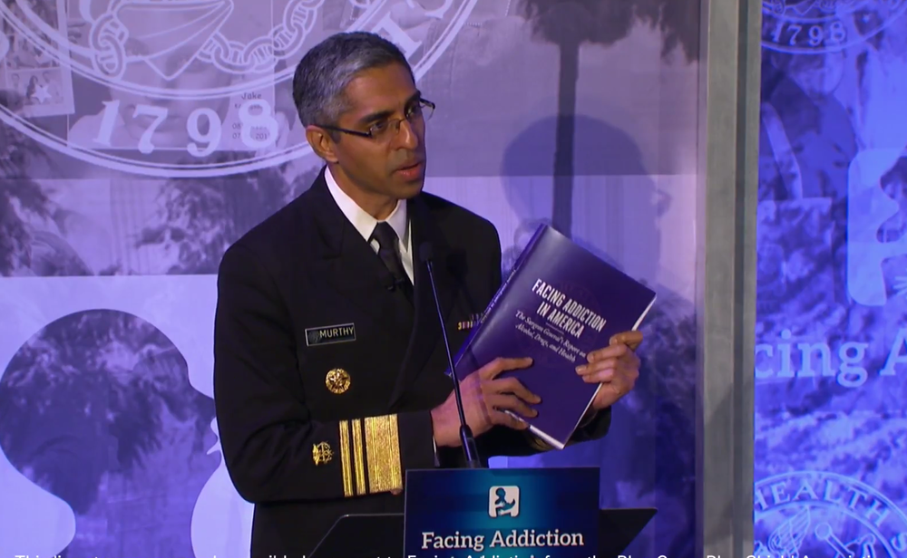 SURGEON GENERAL VIVEK MURTHY, MD
