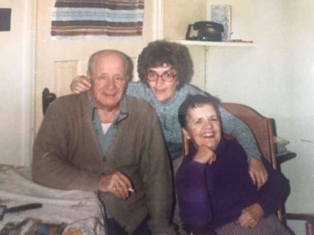 My Great Uncle, My Mom and My Memere.