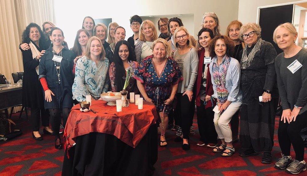 Just a handful of my incredibly wise and supportive Nurse Coach Colleagues from around the country.  Nurse Coaches are shifting the paradigm of healthcare.