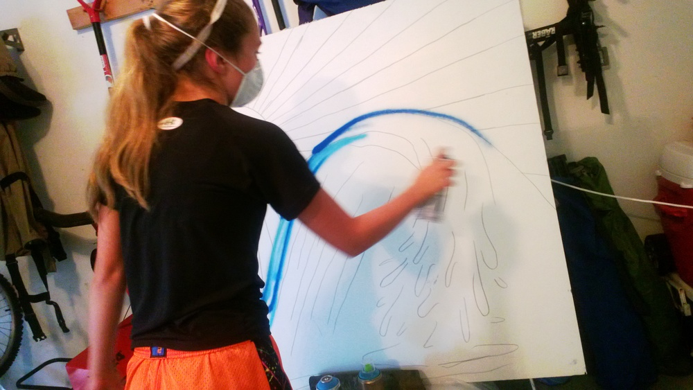 Learn Grafitti Painting