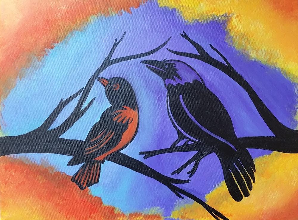 Baltimore's Birds Collage