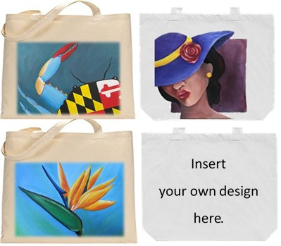 Tote Bag designs for charity.