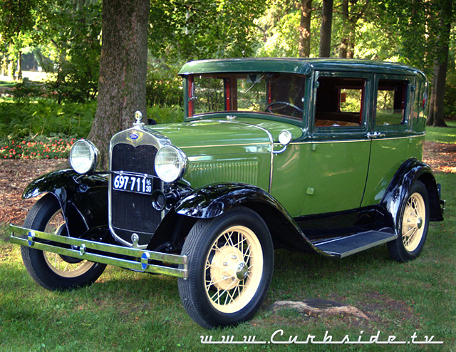 An original 1930 Ford Model A