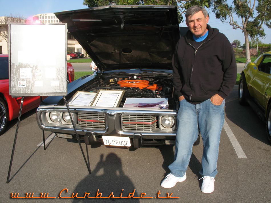 Jim Cherry and his original 1974 Dodge Charger