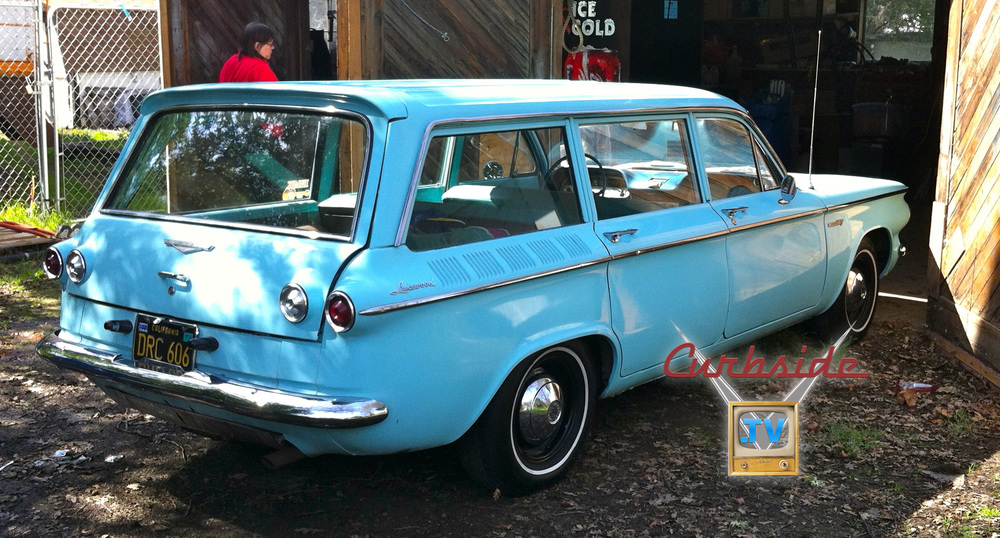1961 Corvair Lakewood wagon