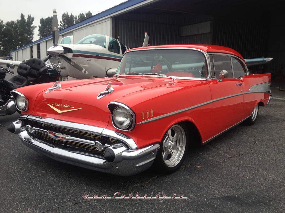 The beautiful and iconic 1957 Chevrolet