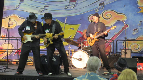 The Fargo Brothers  will be performing beginning at 8pm in Konocti Vista Casino - bring your dancing shoes for this fun band!