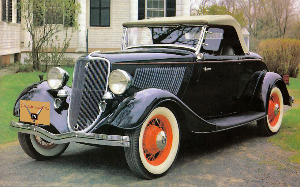 The 1933 34 Fords Bulletproof Almost Curbside Car