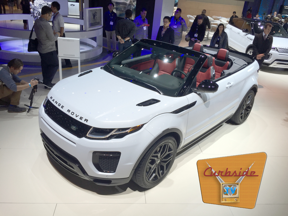 Land Rover Evoque Convertible