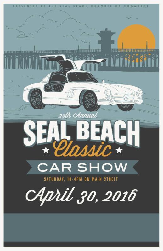 Seal Beach Classic Car Show Curbside Car Show Calendar - Seal beach car show