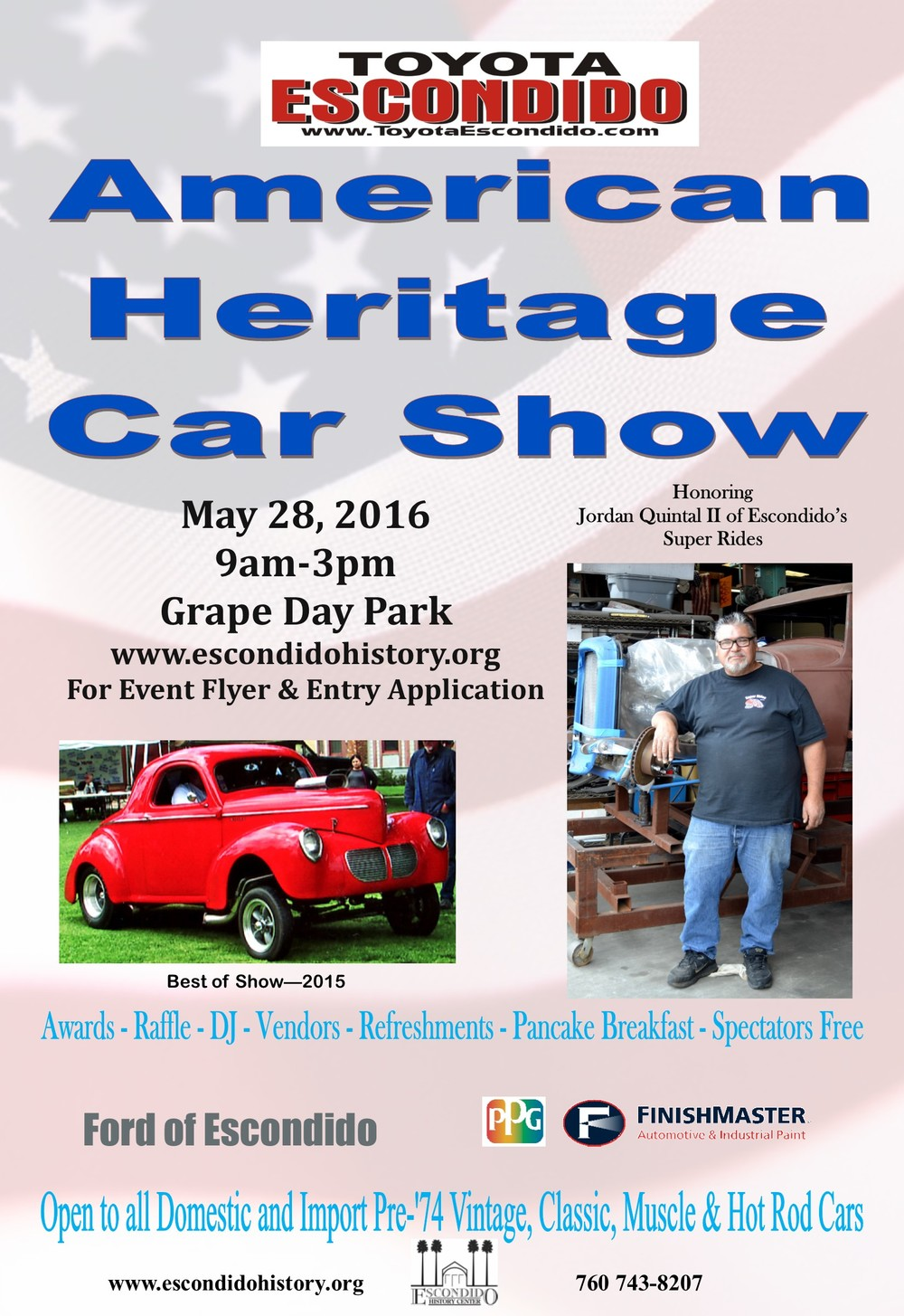 American Heritage Car Show At The Escondido History Center - American heritage car show
