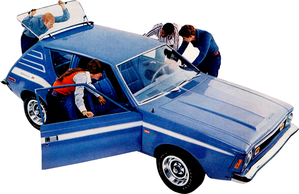 The AMC Gremlin Levis Edition