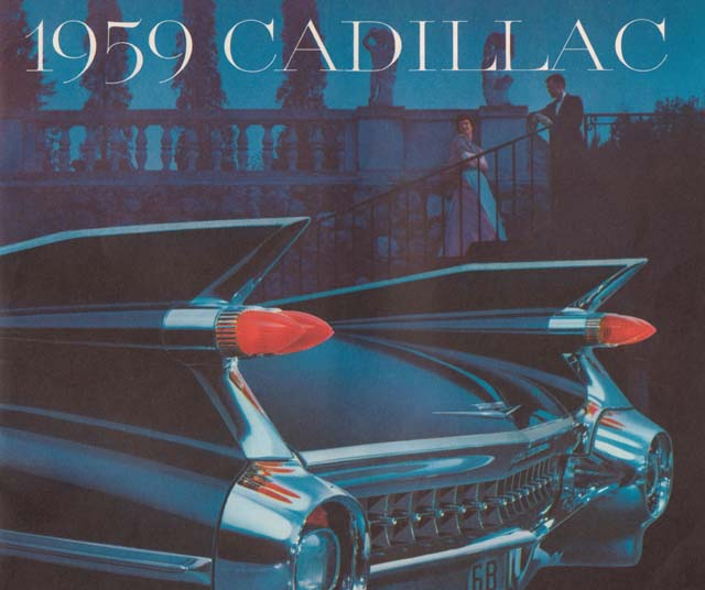 1959 Cadillac Brochure Cover