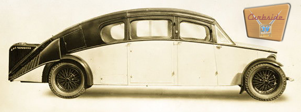 Burney Streamliner side shot