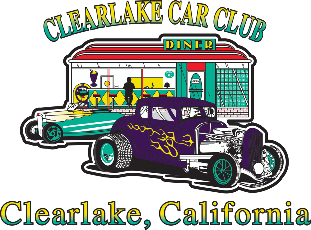 Clearlake Car Club Logo