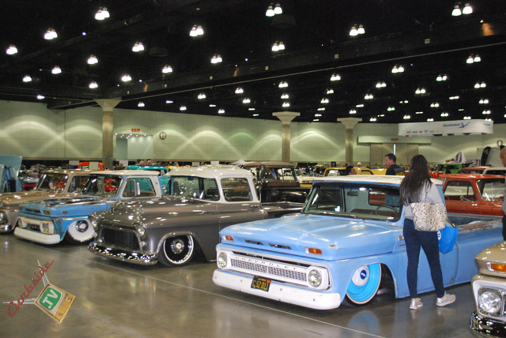 The Classic Auto Show At The Los Angeles Convention Center