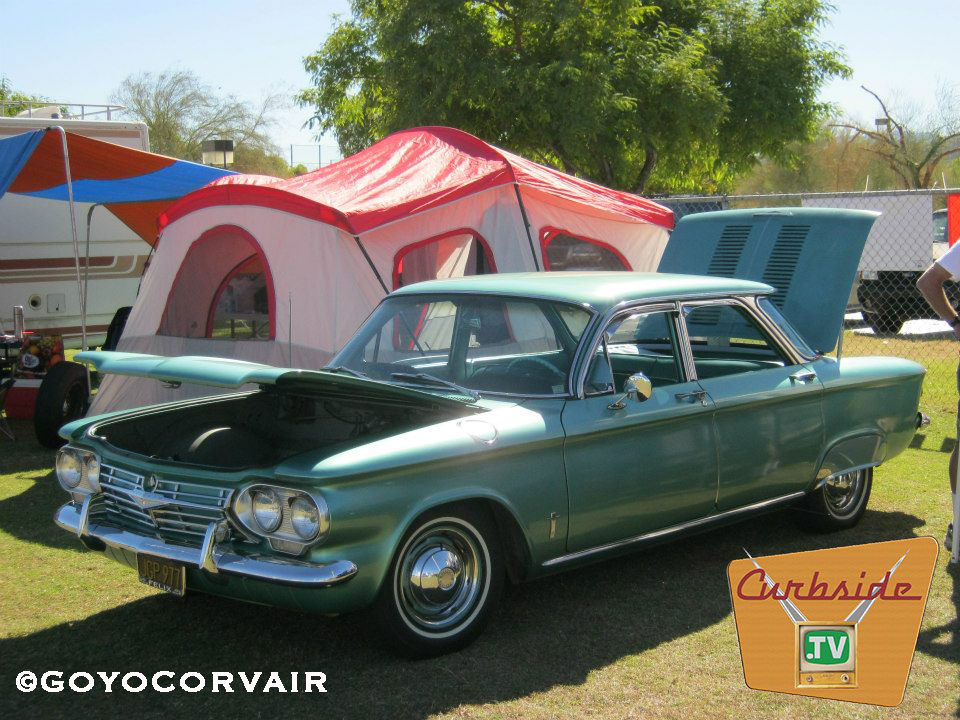 Greg Vargas' Corvair