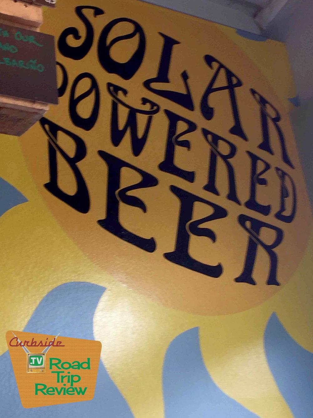 Solar-powered beer