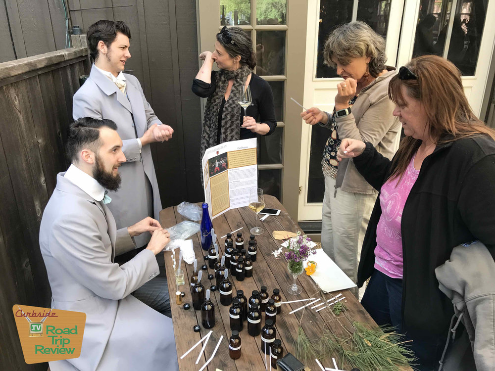 Perfumers at the Bewildered Pig