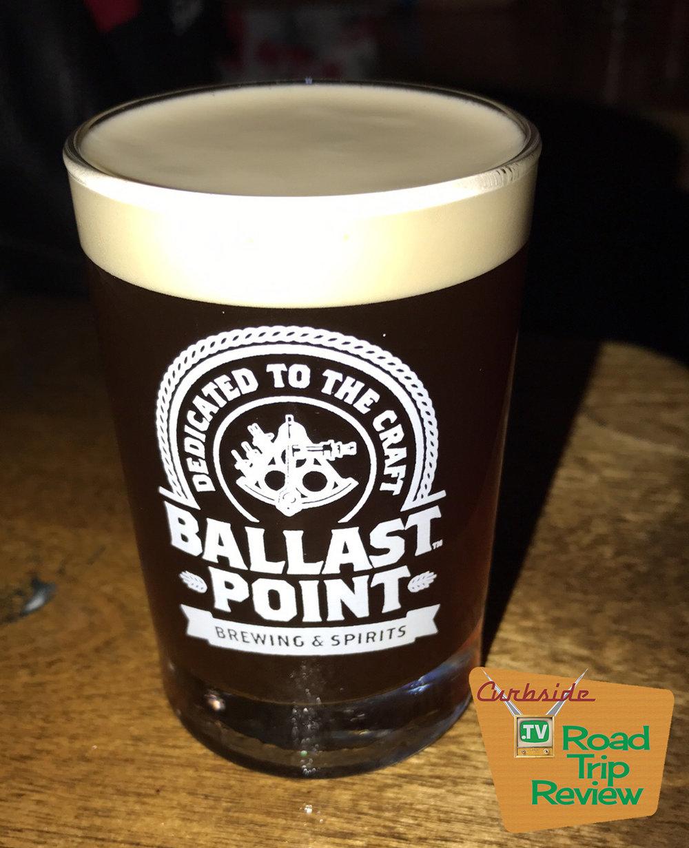Ballast Point Brewery shot glass