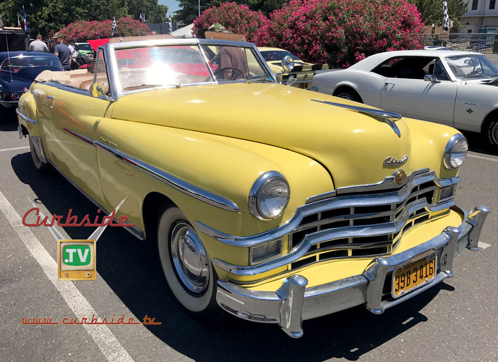 The 1949 Chrysler New Yorker convertible
