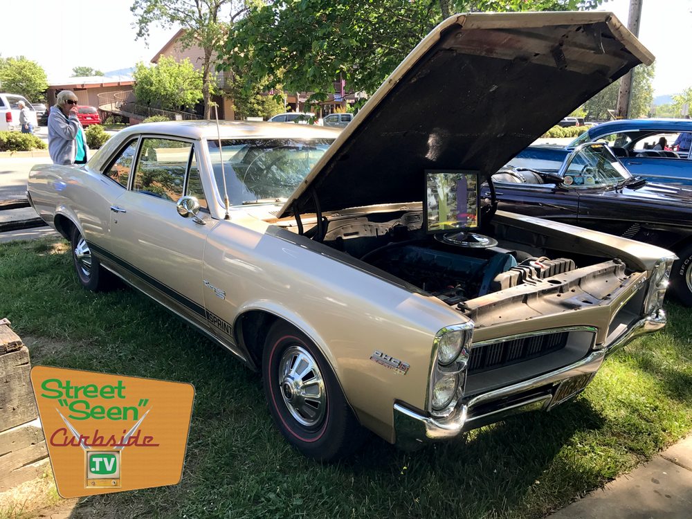 "The 1967 Pontiac Tempest with its original overhead cam six-cylinder ""Sprint"" engine."