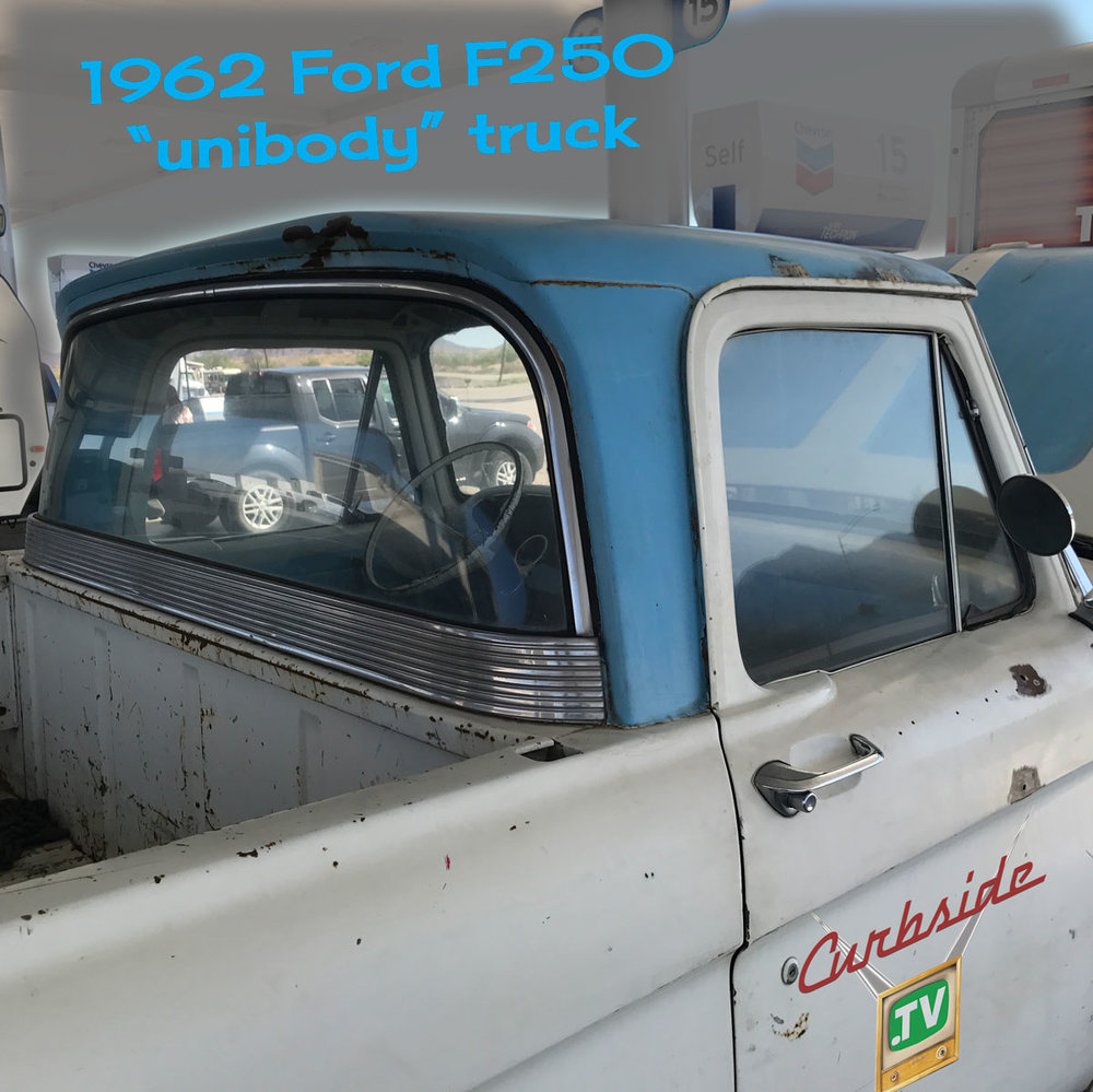 1962 Ford F250 Unibody Pickup Curbside Car Show Calendar 1961 F 250 4x4 Truck For Sale