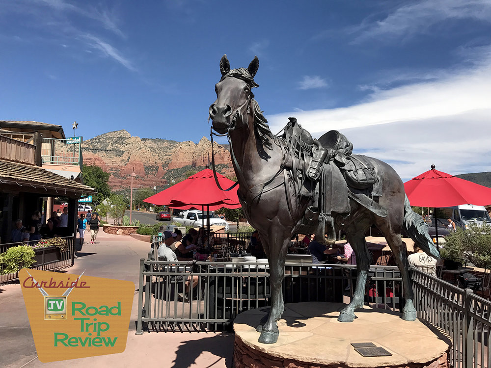 Art and shopping in Sedona, Arizona