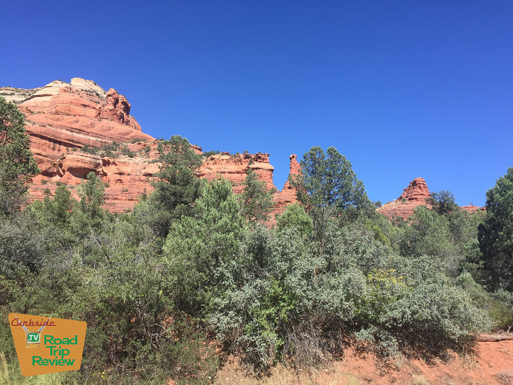 Beautiful rock formations in Sedona, Arizona