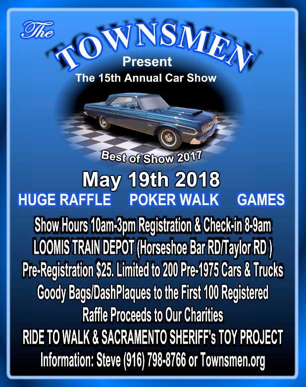 Townsmen Car Show Sacramento Curbside Car Show Calendar - Car show in sacramento this weekend