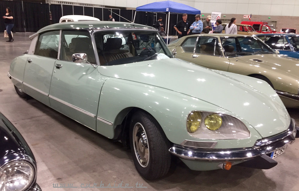 2018 Los Angeles Classic Car Show - Citroen