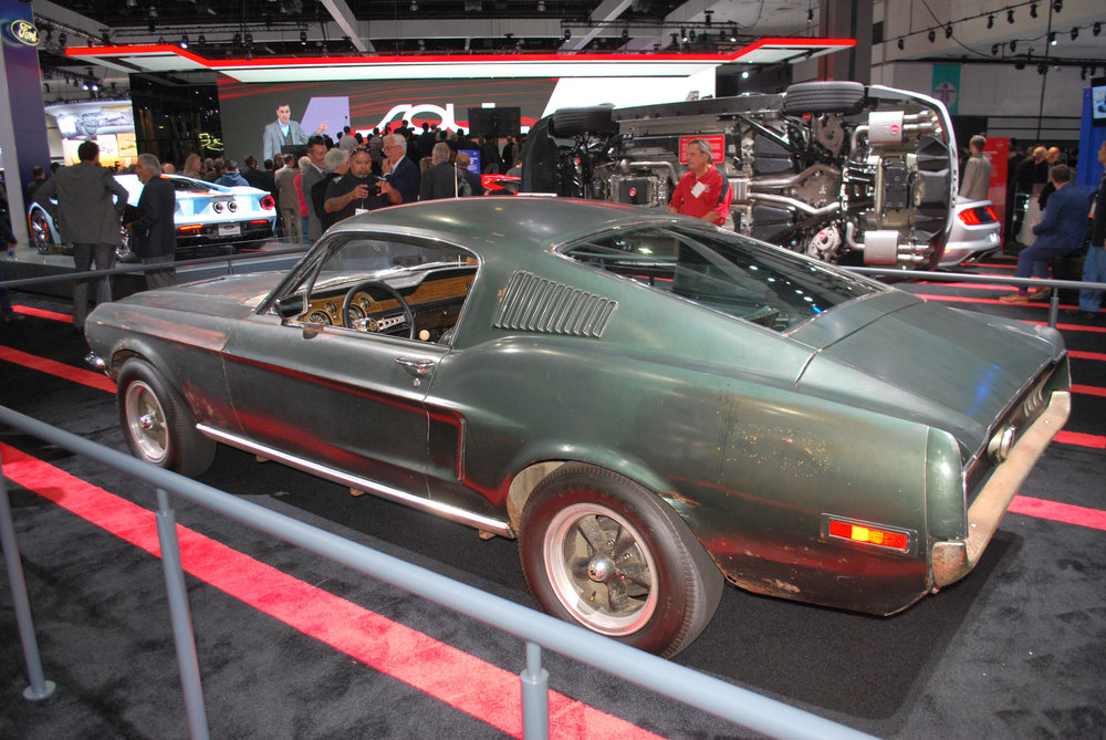Original Bullitt Mustang at the LA Auto SHow