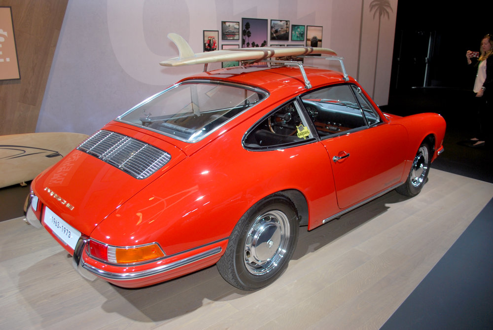 Original Porsche 911 at the 2018 Los Angeles International Auto