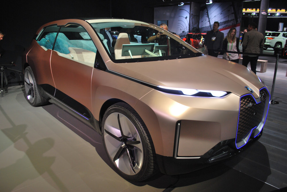 Electric BMW at the 2018 Los Angeles International Auto Show