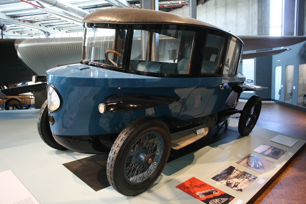 The Trumpler Tropfenwagen - the answer to last week's trivia contest and an incredibly aerodynamic car of 1920s Germany.