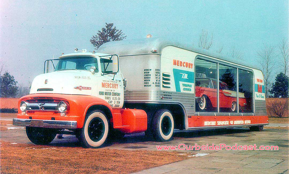 Mercury Turnpike Cruiser concept and truck