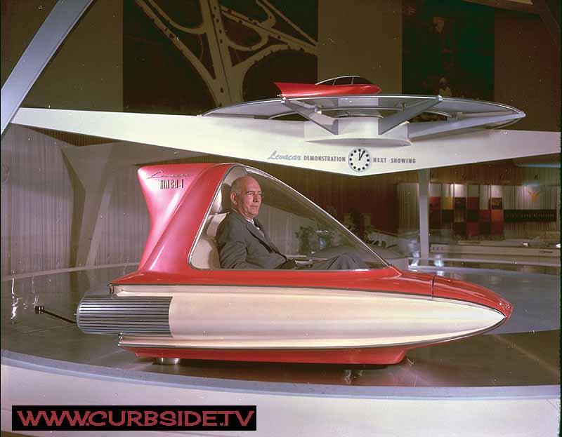 Ford Levacar Mach 1 concept