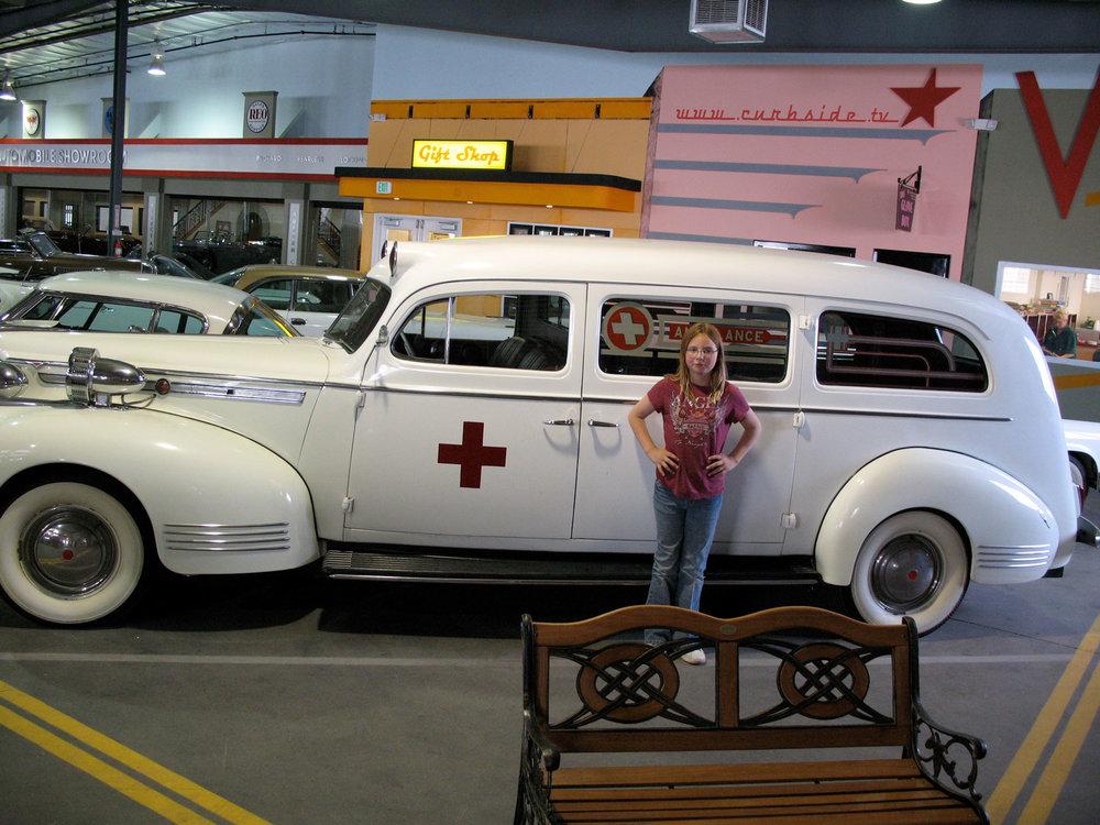 1941 Packard Henney ambulance