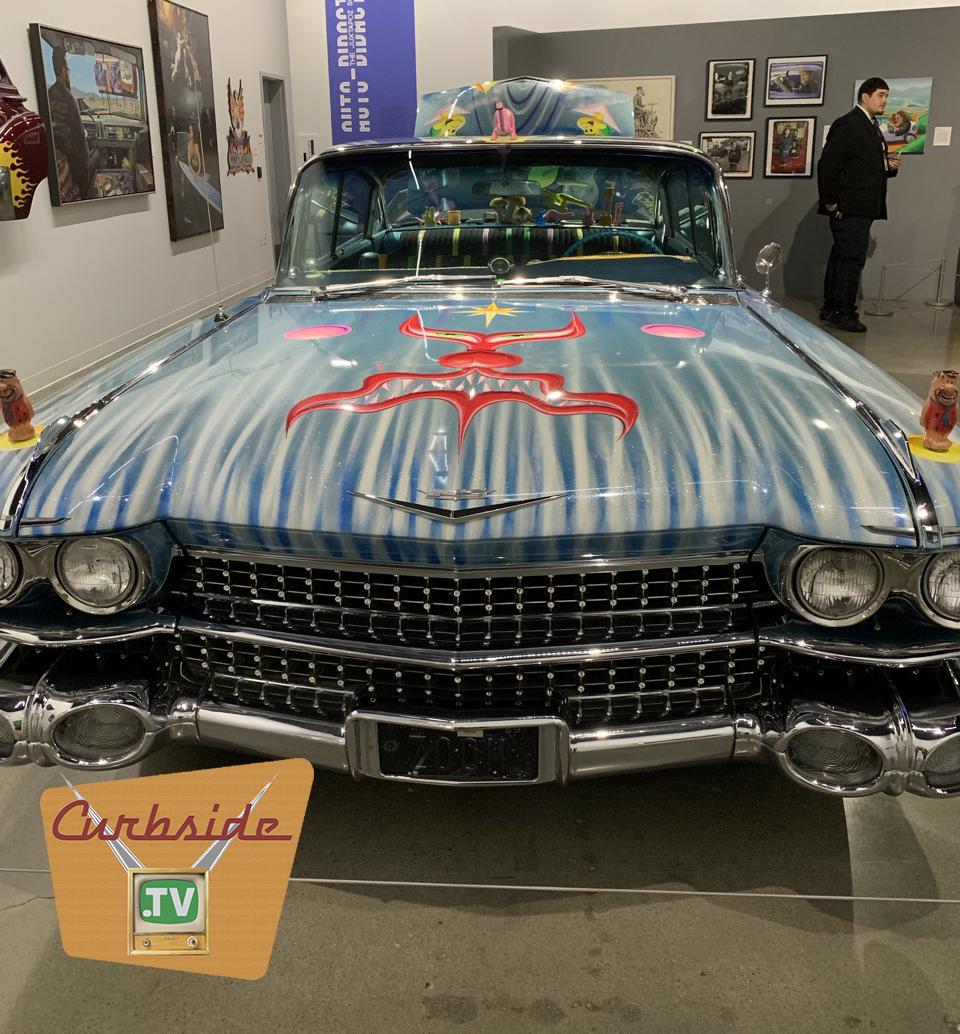 Custom 1959 Cadillac at the Petersen Auto Museum