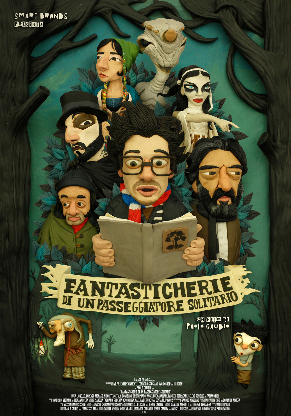 Fantasticherie di un Passeggiatore Solitario  - 83 mins - Fantasy/Animation, Italy  Directed by Paolo Gaudio  REGIONAL PREMIERE  Synopsis:  Three characters in three different ages are united by a dream of freedom and a small masterpiece of literature. A journey through the mysterious and timeless aspirations, sufferings and 'Reveries' of a poet, of a young student and a child lost in the woods.