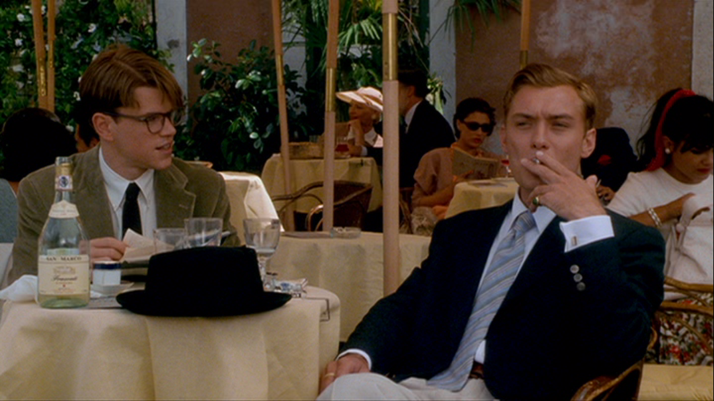 Matt Damon and Jude Law in The Talented Mr. Ripley