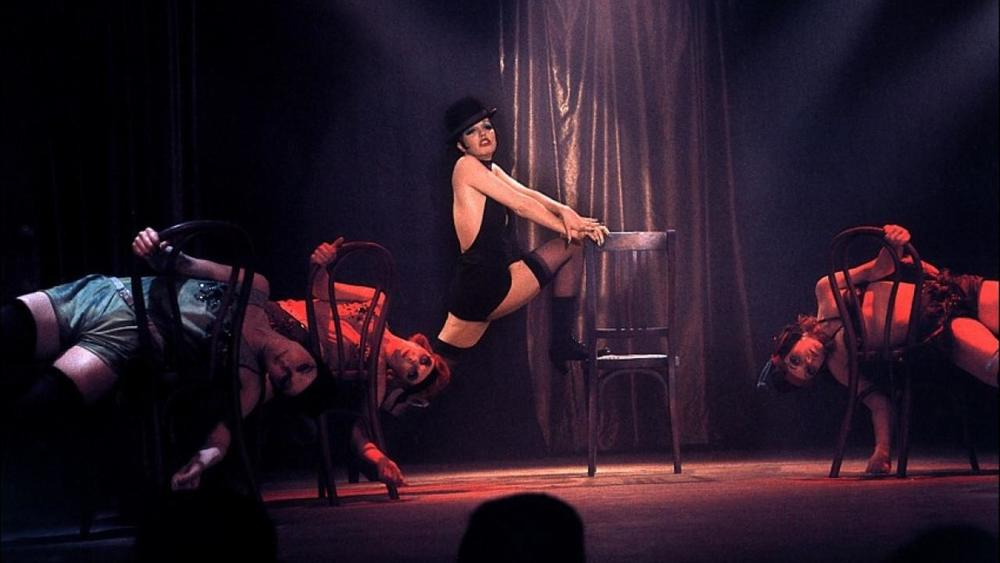 Liza Minnelli showing off in Cabaret
